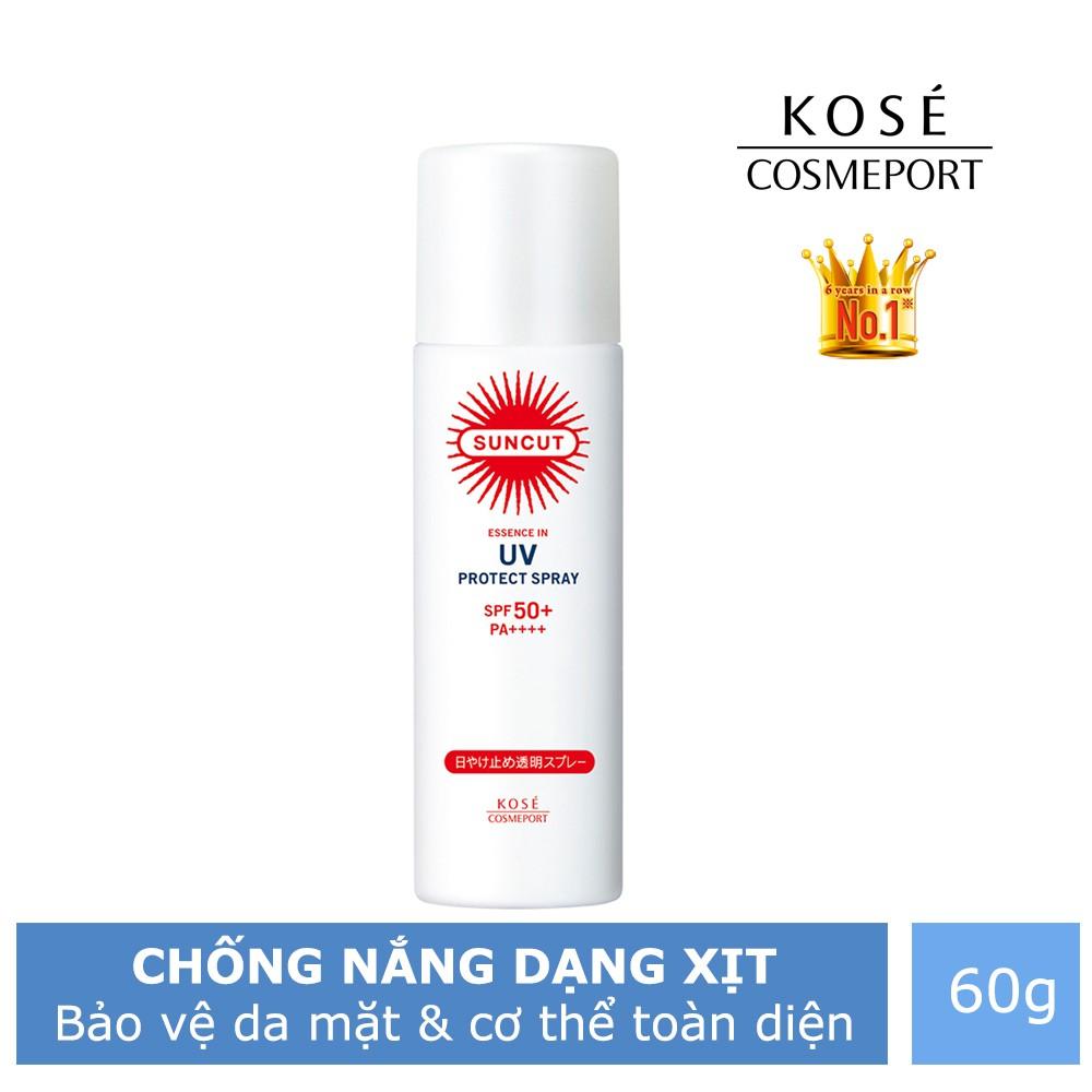 Chống nắng body dạng xịt Kosé Cosmeport SunCut Spray