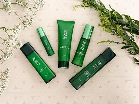 Bộ sản phẩm junkisui kose có chứa toner cho da dầu mụn