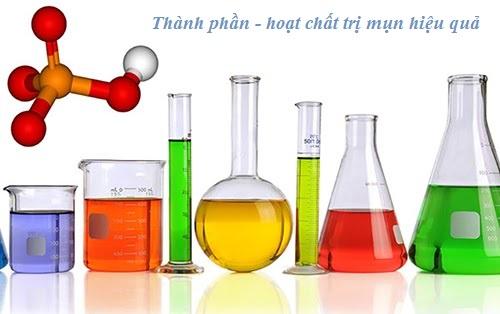 Những hoạt chất có trong toner cho da dầu mụn