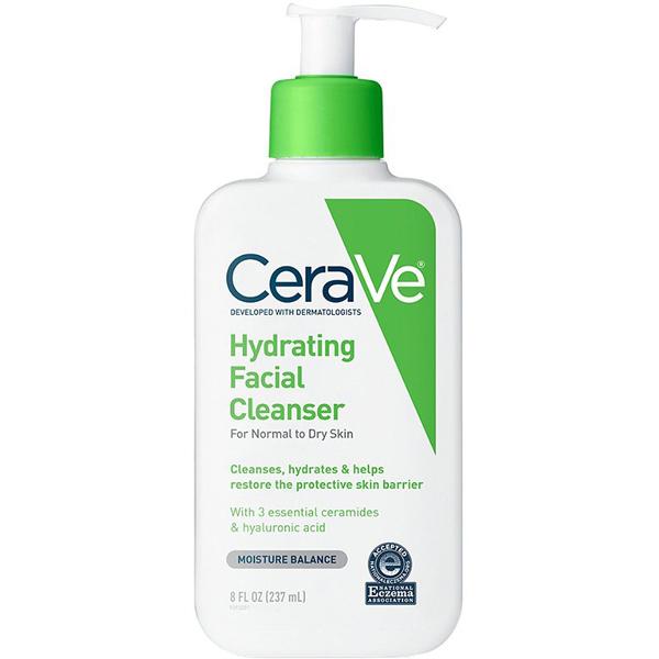 sữa rửa mặt cho da nhạy cảm cerave hydrating facial cleanser